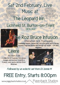 The Roz Bruce Infusion at The Leopard
