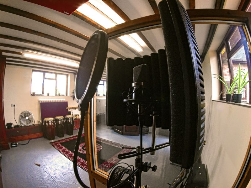 Piggyback Studios: Electric Fields - Recording Studio and Production Space